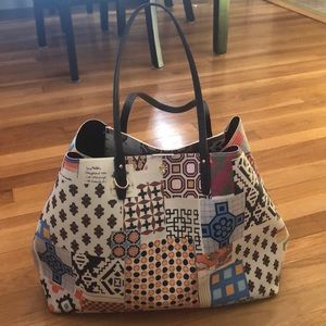 Tory Burch Kerrington Square Tote Scrapbook